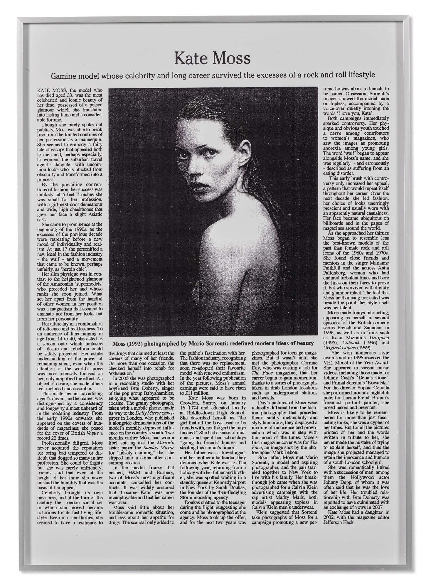 Adam McEwen-Untitled (Kate)-2007