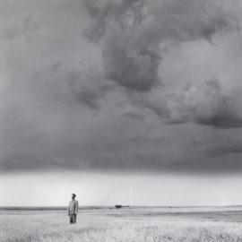 Tseng Kwong Chi-Lightning Field, South Dakota-1986