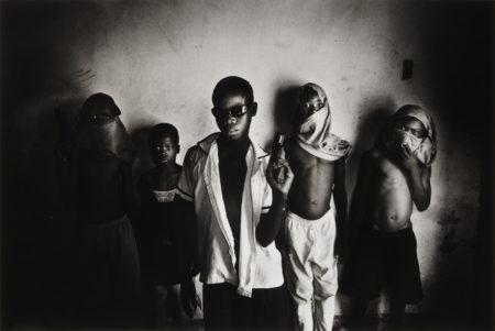 Paolo Pellegrin-A Baby Gang in Port au Prince Slum of Cite Soleil, Haiti, February 2006-2006
