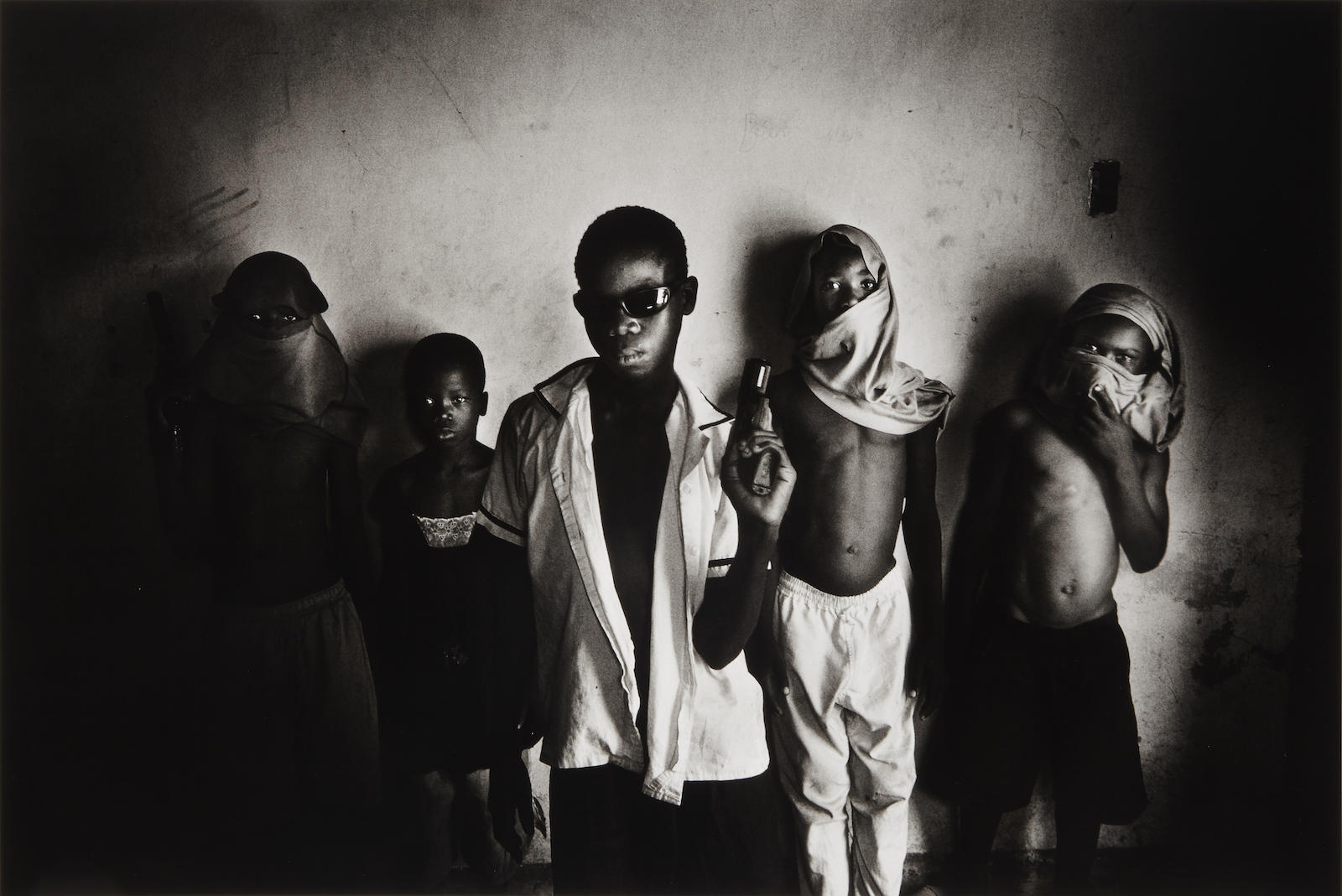 Paolo Pellegrin-A Baby Gang in Port au Prince Slum of Cite Soleil, Haiti, February 2006-2006