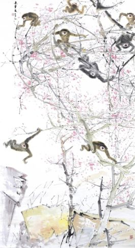 Chen Wen Hsi-Eight Gibbons-1980