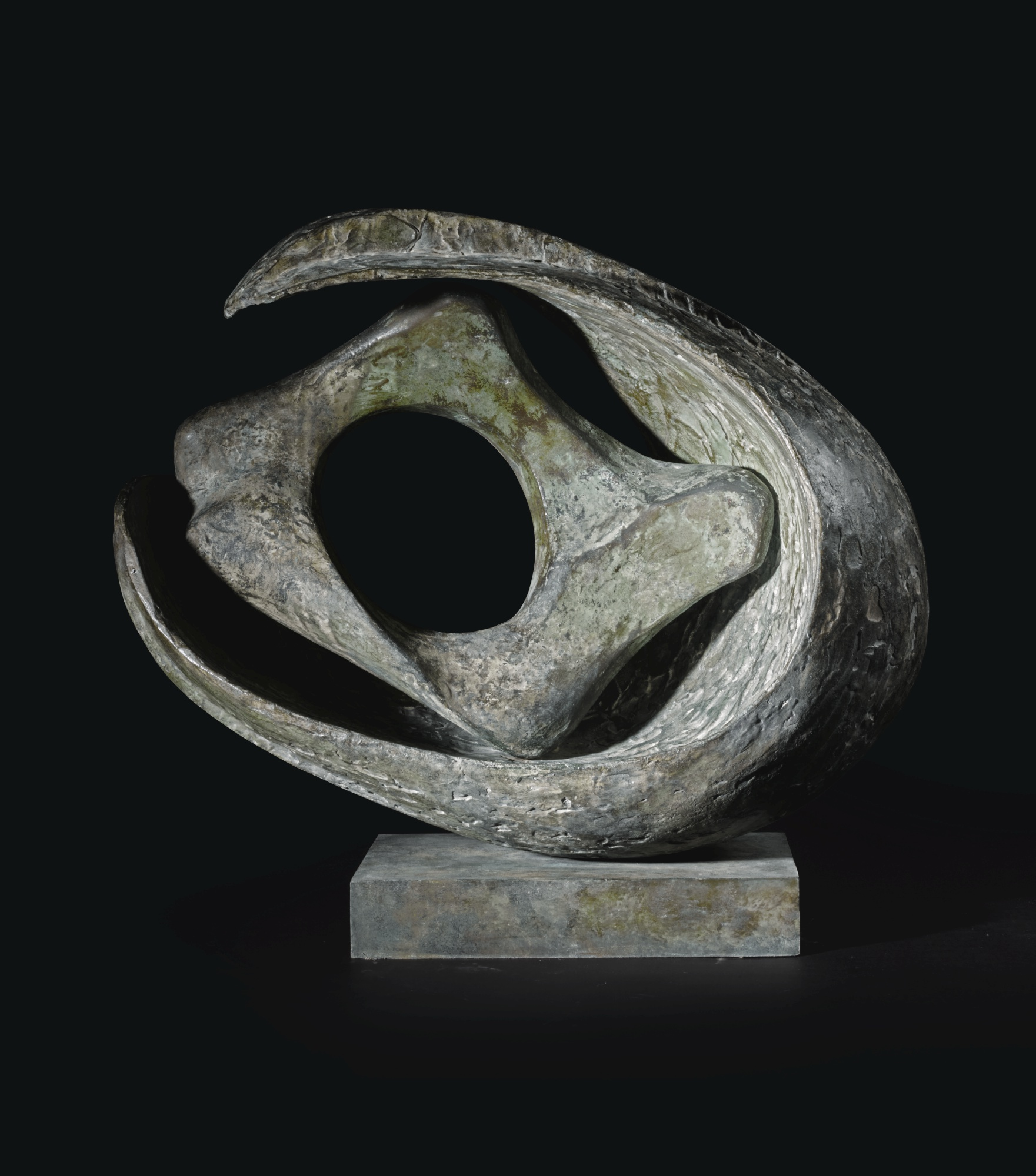 Barbara Hepworth-Curved Form With Inner Form (Anima)-1959