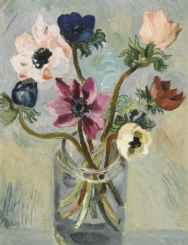 Christopher Wood-Anemones In A Glass Jar-1925