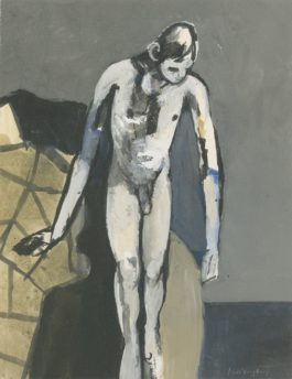 Keith Vaughan-Vertigo-1955