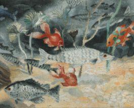 Christopher Wood-The Goldfish-1929