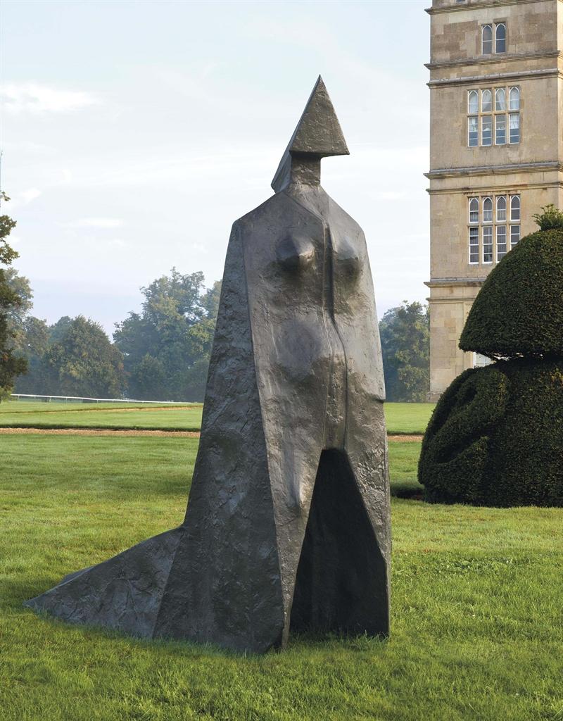 Lynn Chadwick-Cloaked Figure IX-1978