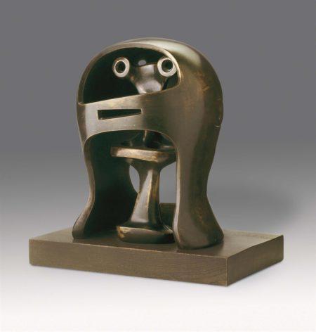 Henry Moore-Helmet Head No. 2-1955