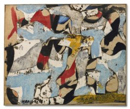 Conrad Marca-Relli-Senza Titolo (S-R-I 57)-1957
