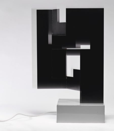 Bruno Munari-Negativo-Positivo A 3 Dimensioni-1990