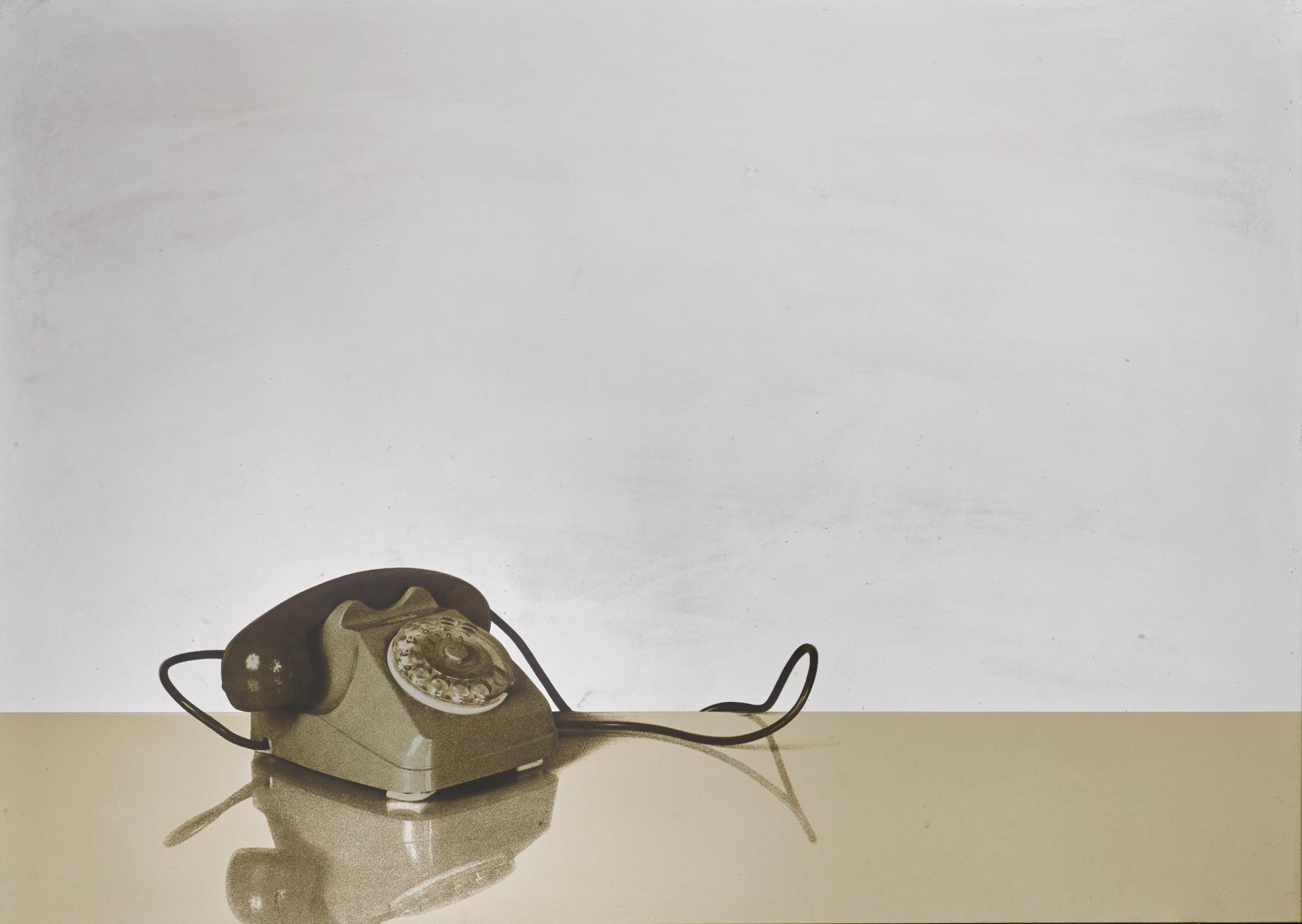 Michelangelo Pistoletto-Il Telefono-1970