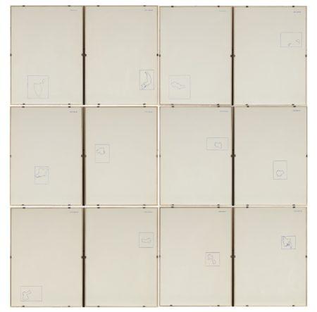 Alighiero Boetti-12 Forme Dal 10 Giugno 1967-1971