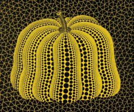 Yayoi Kusama-Pumpkin (T. Wa)-2003