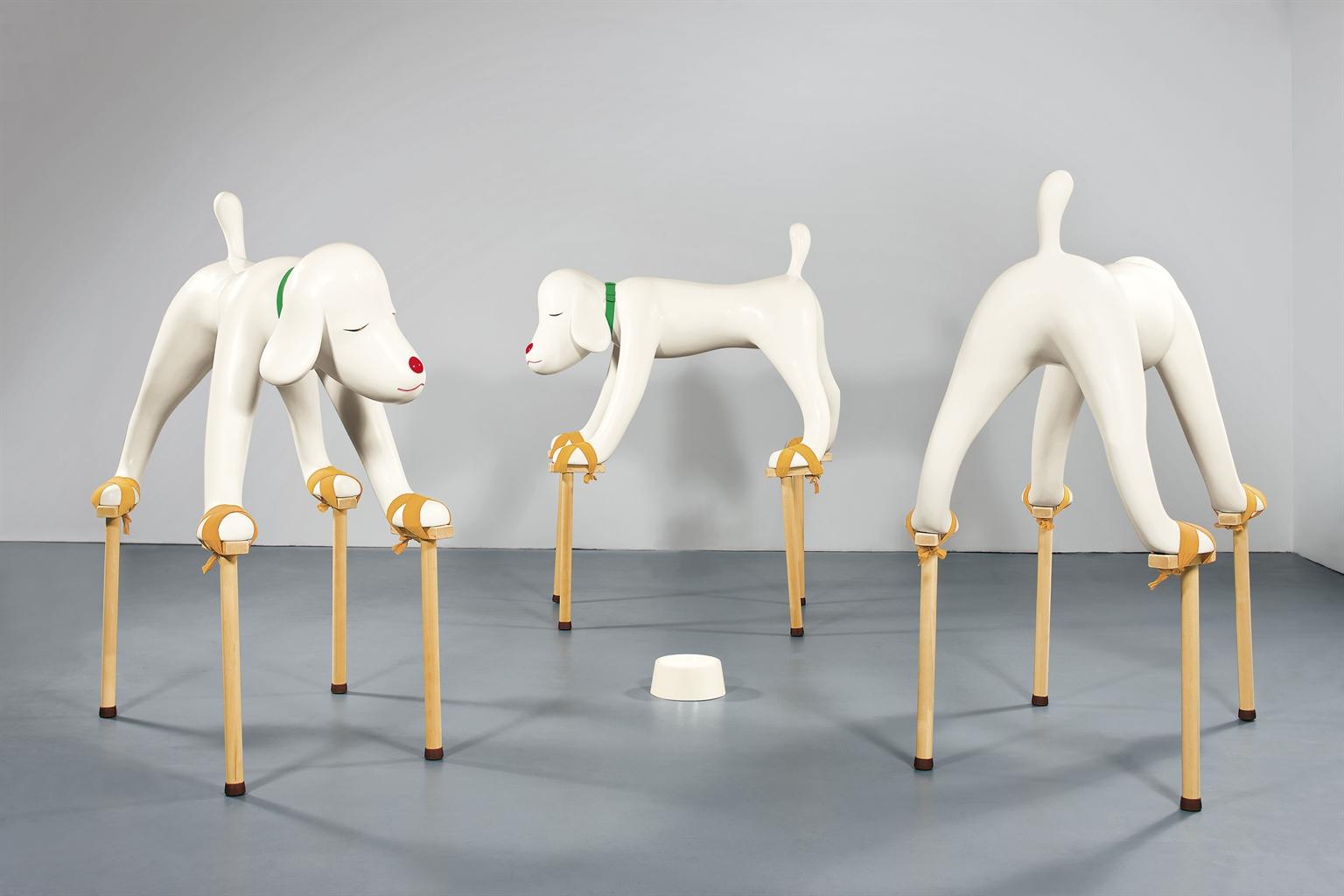 Yoshitomo Nara-Dogs From Your Childhood-1999