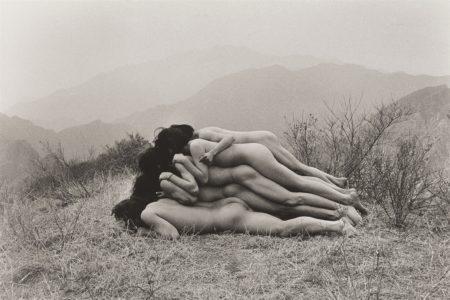 Zhang Huan-To Add A Meter To An Anonymous Mountain-1995