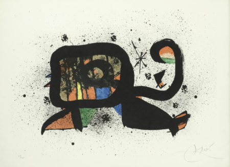 Joan Miro-Ocella (Mourlot 1157)-1978