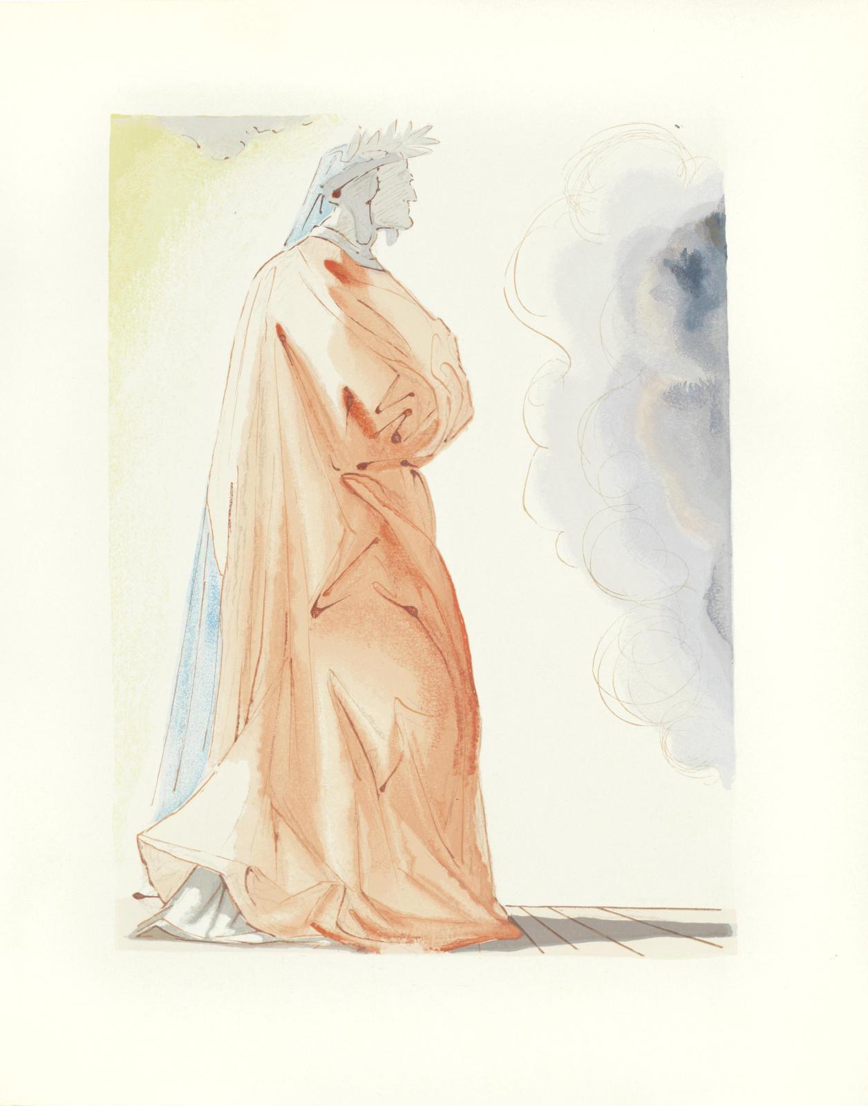Salvador Dali-La Divine Comedie (The Divine Comedy)-1960