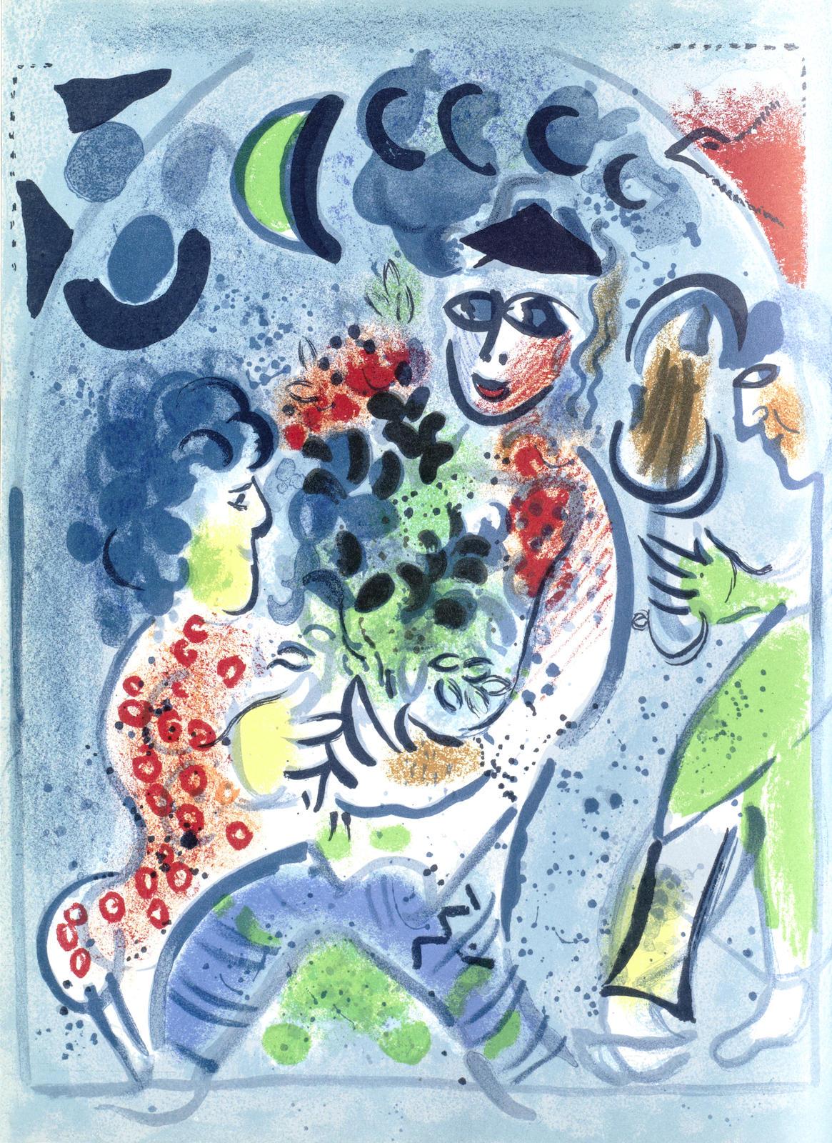 Marc Chagall-Chagall Lithographe I-VI-1986