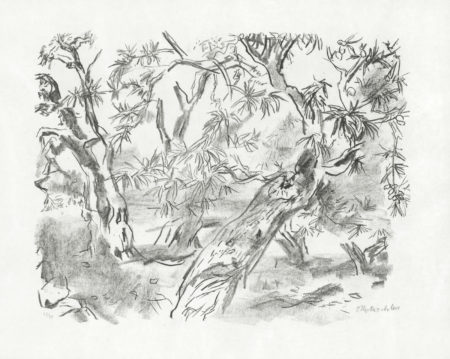 Oskar Kokoschka-A Group of drypoints and lithographs ('Penthesilea'; four lithographs from 'Apulia')-1970