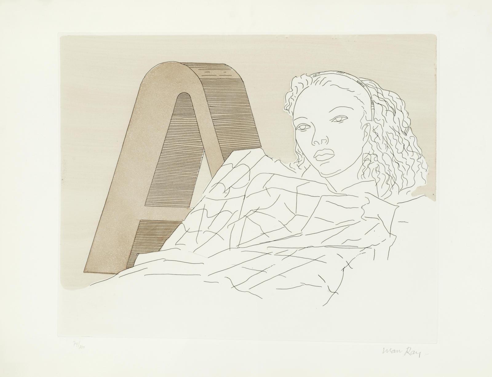 Man Ray-L'A; Kiki-1971
