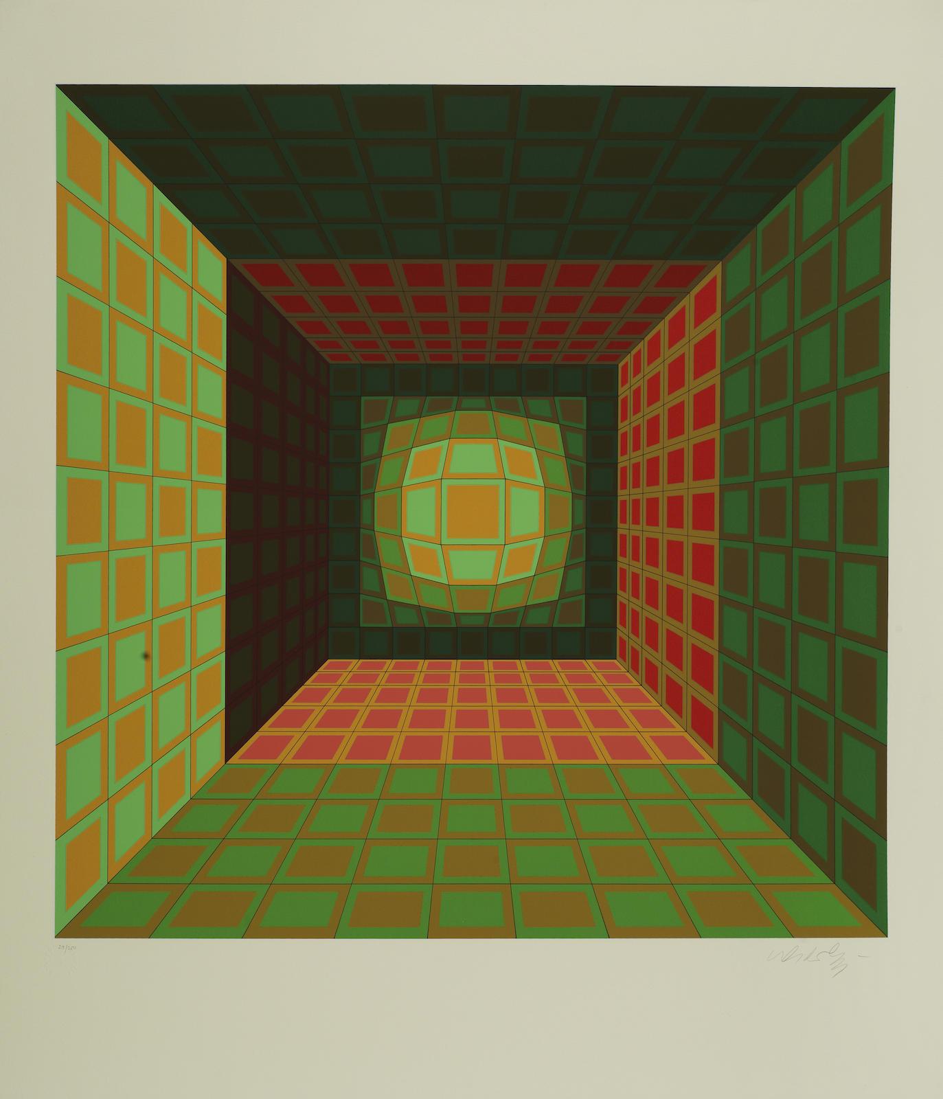 Victor Vasarely-Kaldor; Enigmes VI-1980