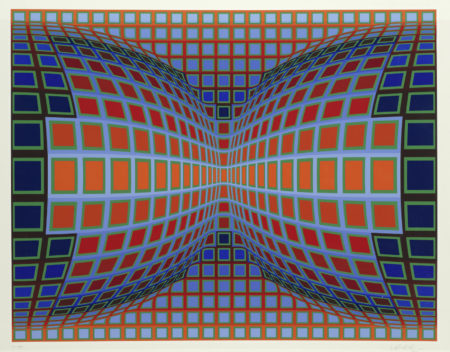 Victor Vasarely-Papillon-1981