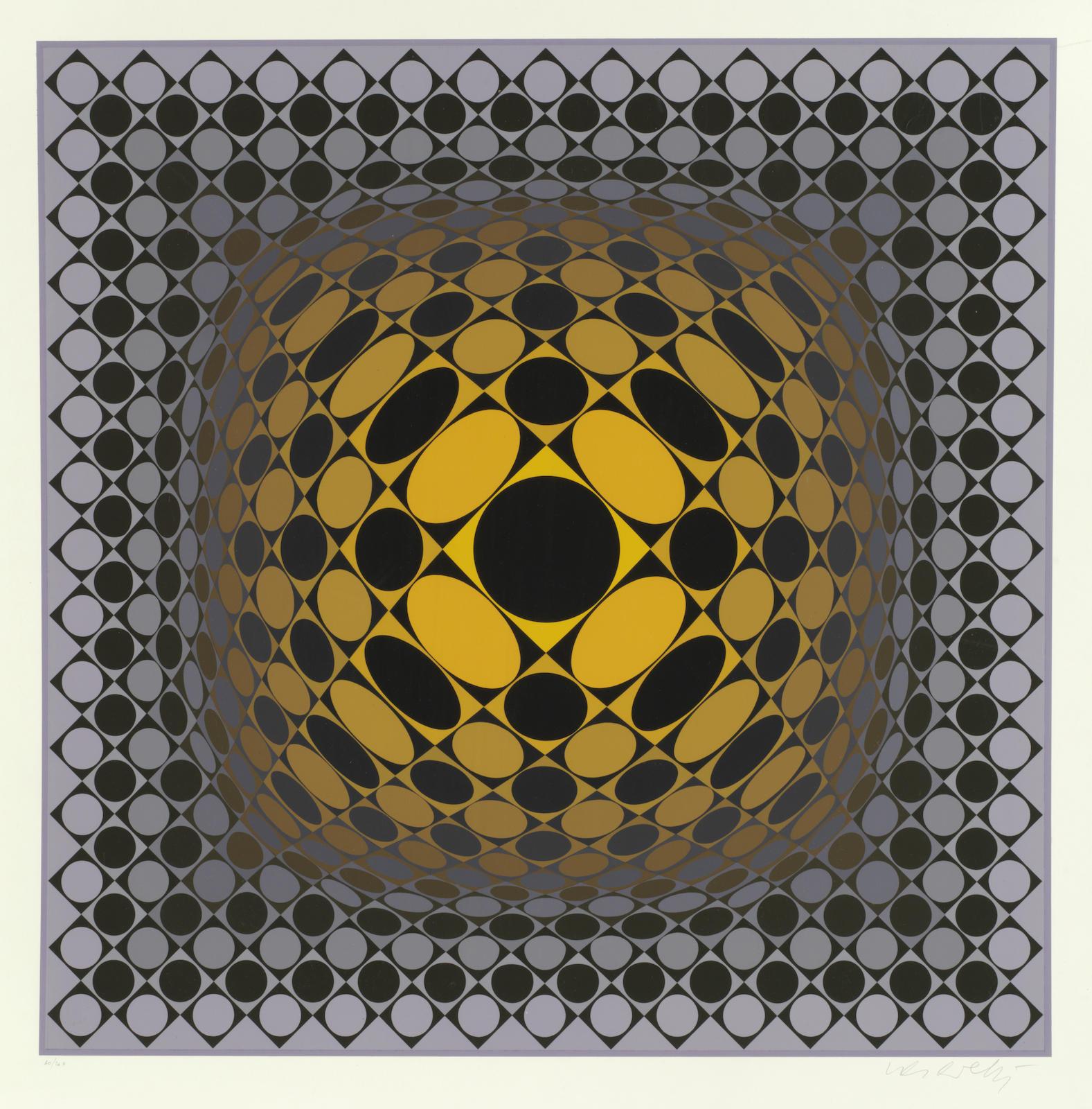 Victor Vasarely-Vega-Sakk-1969