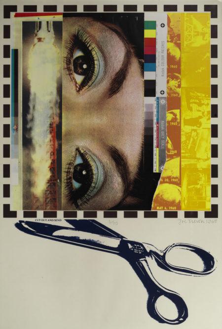 Joe Tilson-Cut out and Send-1968