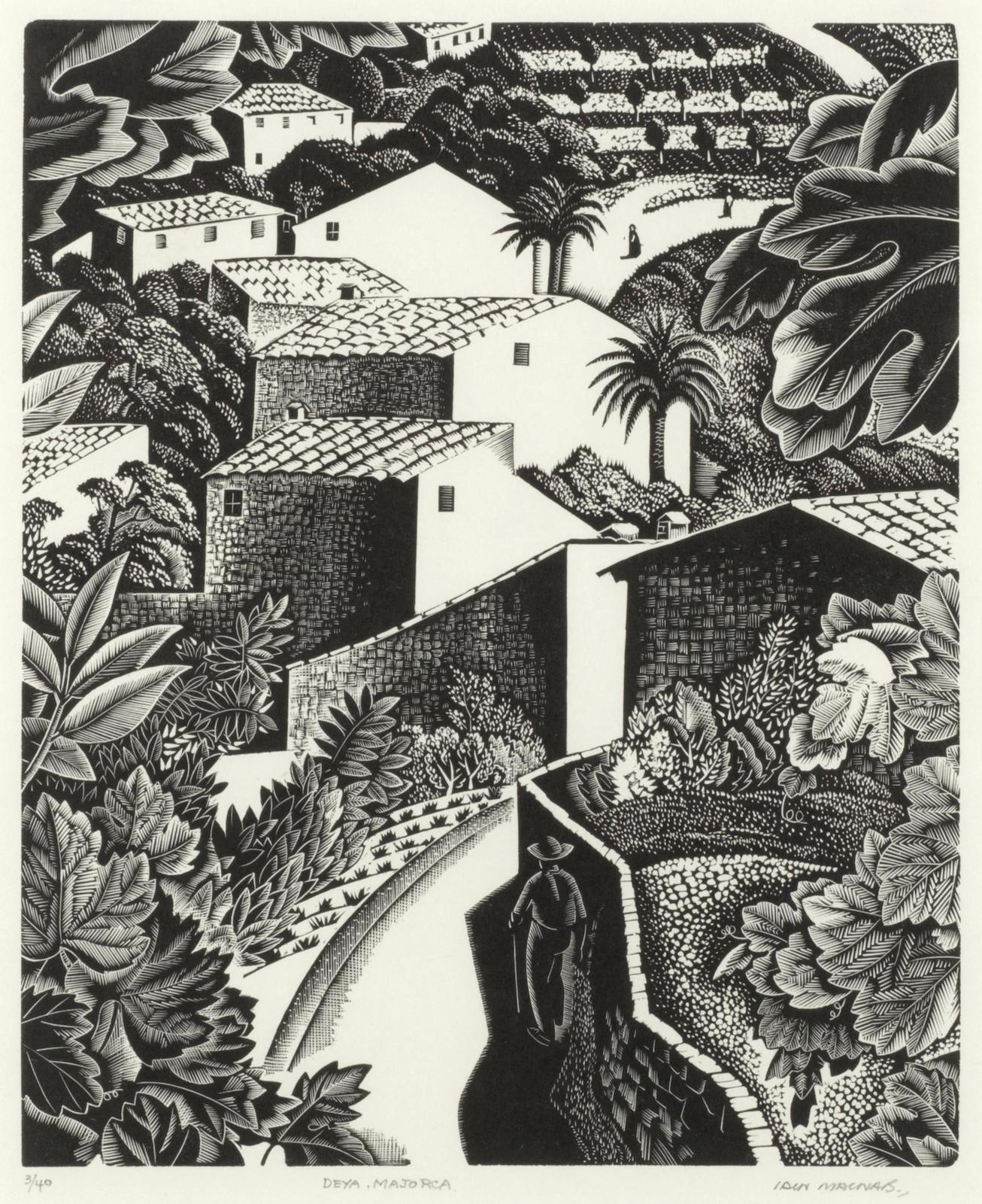 Iain MacNab-Deya, Majorca-1932