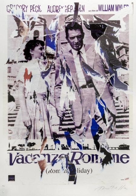 Mimmo Rotella-Vacanze Romane-1960