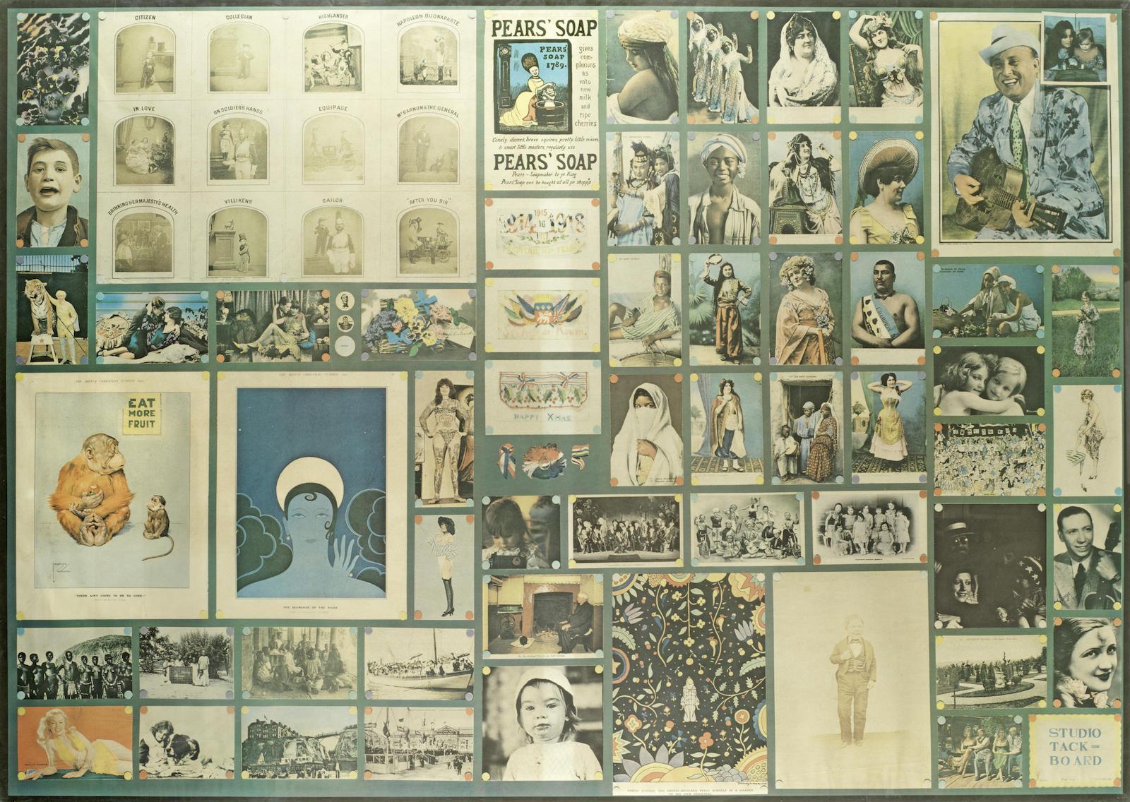 Peter Blake-Studio Tack-board-1972