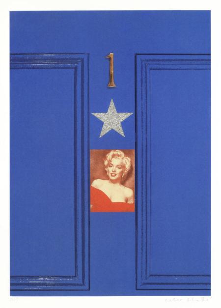 Peter Blake-Marilyn's Door, from 'Replay Series'-2009