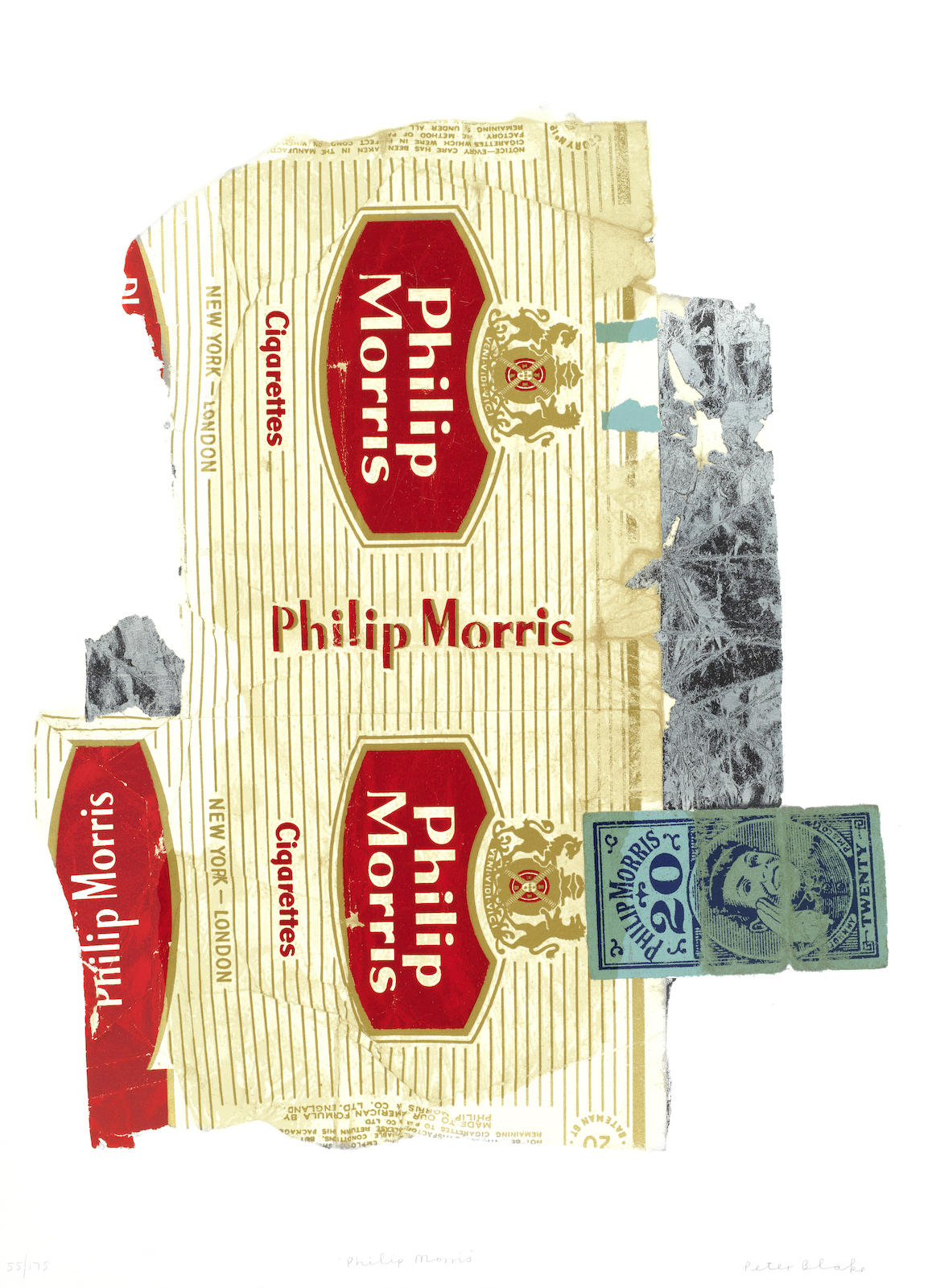 Peter Blake-Fag Packets (Philip Morris)-2007