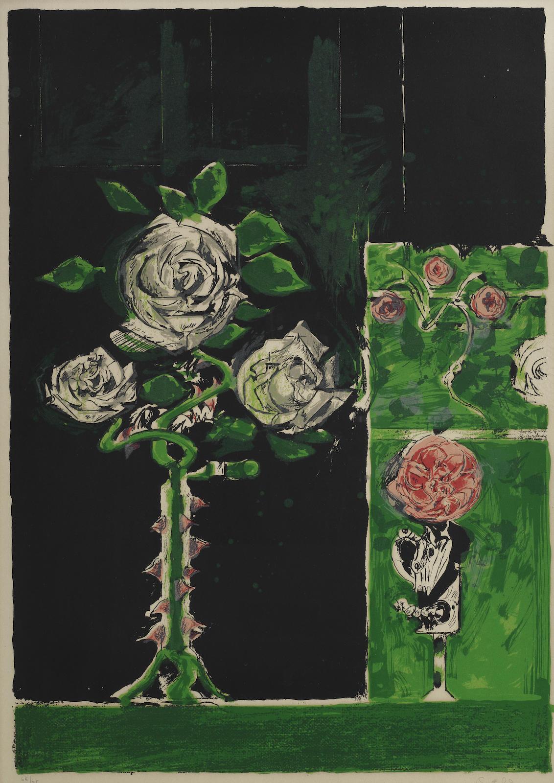 Graham Sutherland-Roses (Tassi 148)-1974