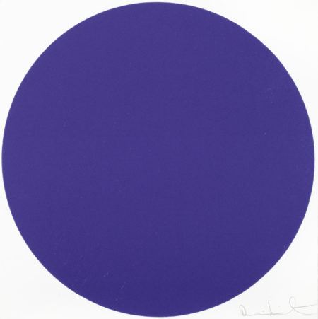 Damien Hirst-Equilin Blue-2012