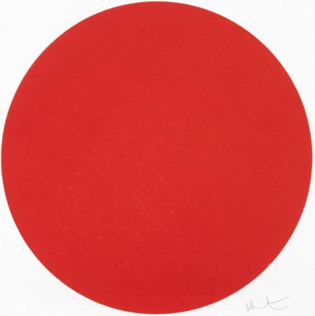 Damien Hirst-Amniotic Fluid Red-2012