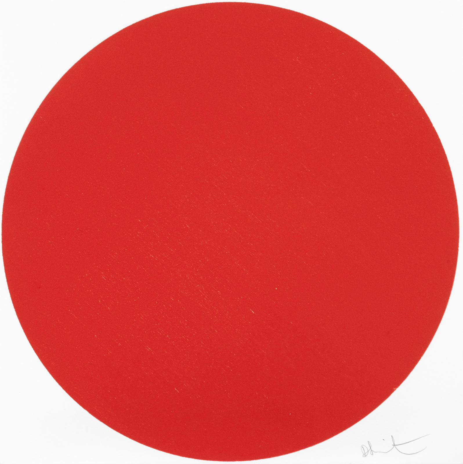Damien Hirst-Amniotic Fluid Red-2012