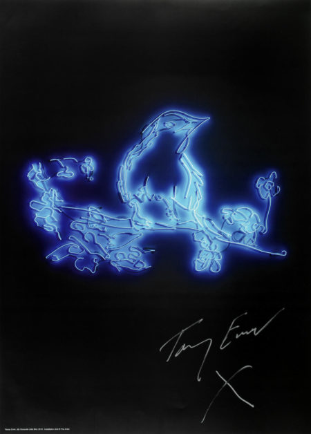 Tracey Emin-My favourite little bird; But Yeah-2010