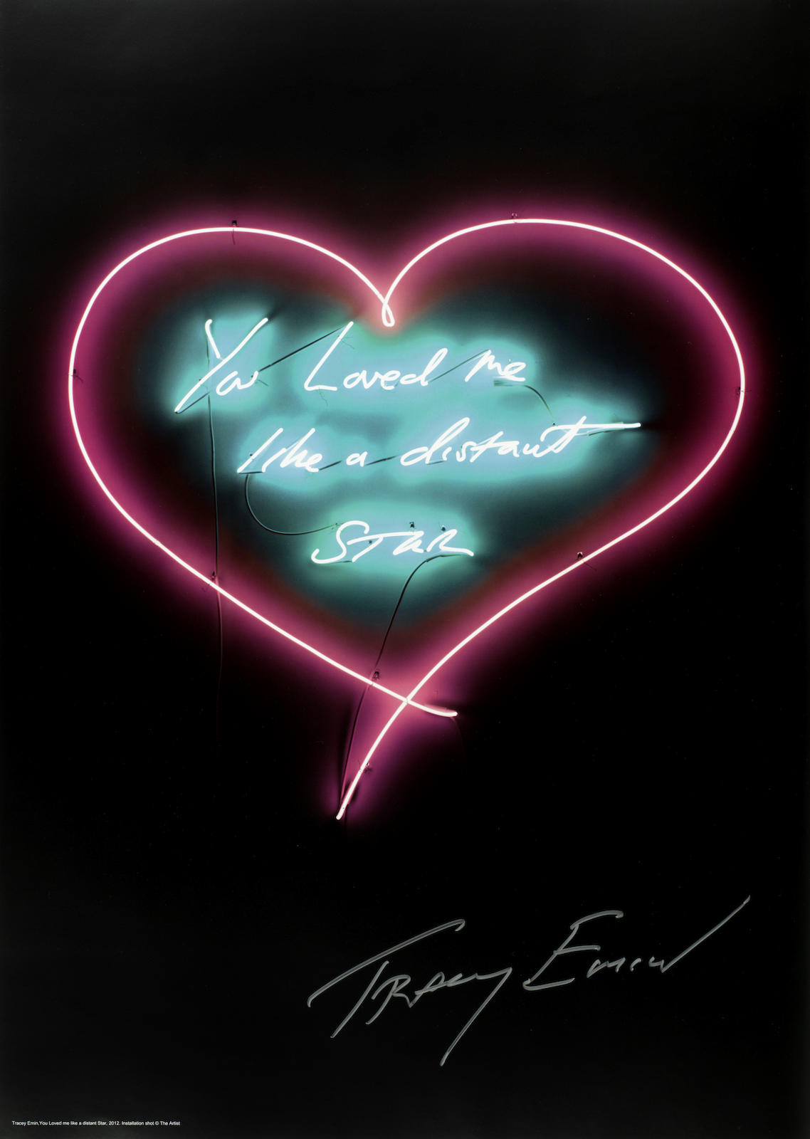 Tracey Emin-You Loved Me Like A Distant Star-2012