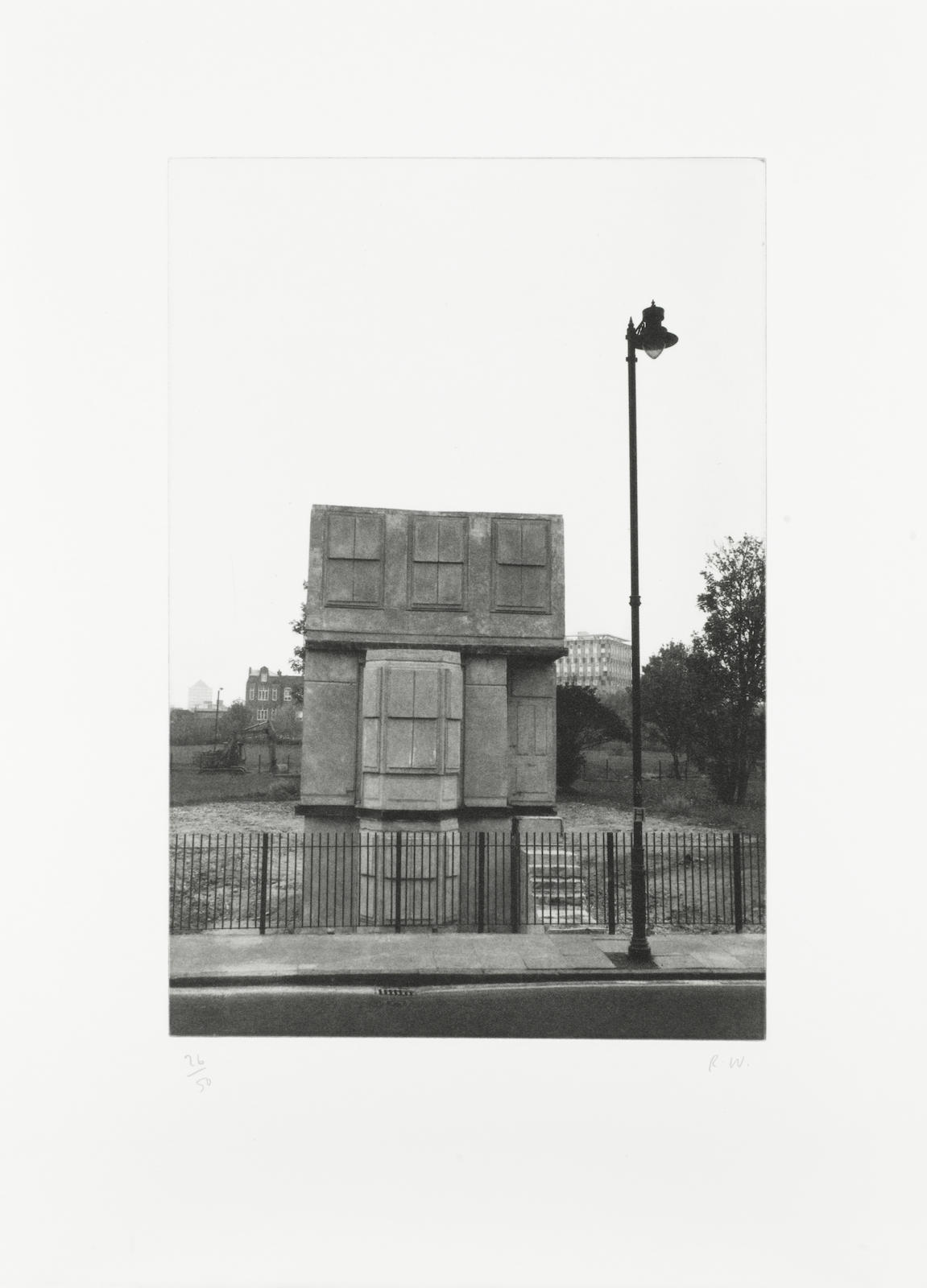 Rachel Whiteread-House, from 'The Stutz Mappe Portfolio'-1995