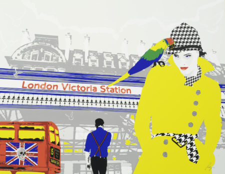Richard Ryan-London by Ryan (entitled 'Savile Row', 'London Street', 'London Victoria Station' and 'Parliament')-2010