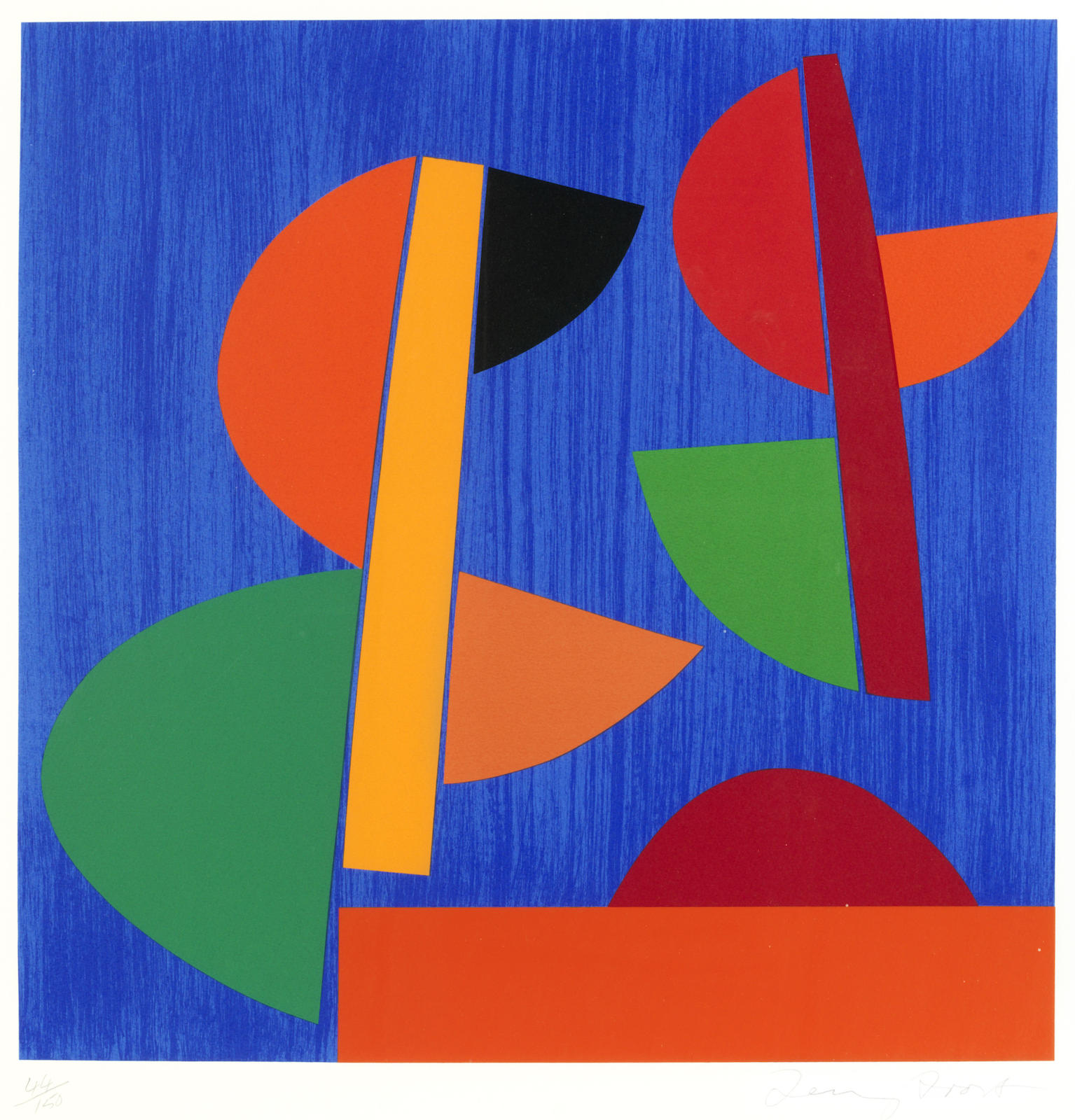 Terry Frost-Swing Red Newlyn (Kemp 183)-1998