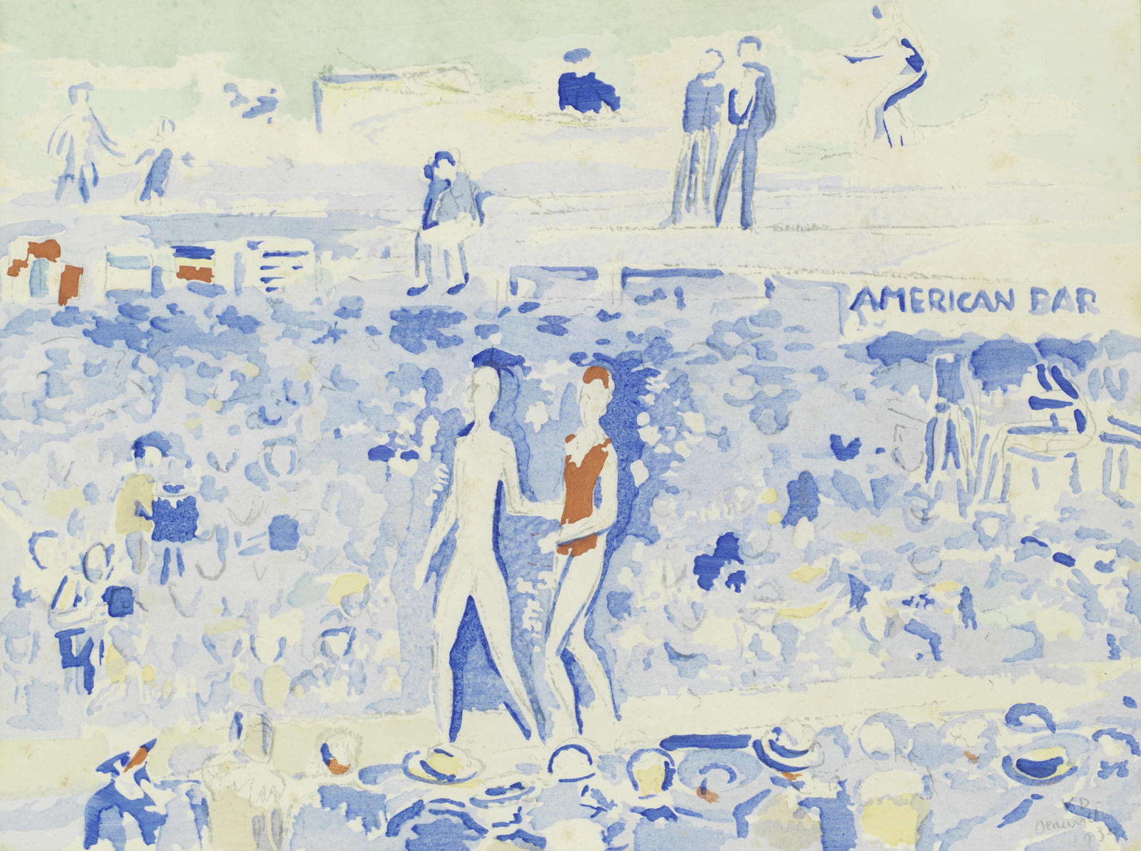 Kees van Dongen-After Kees Van Dongen - Le Gala du Costume de Bain-1930