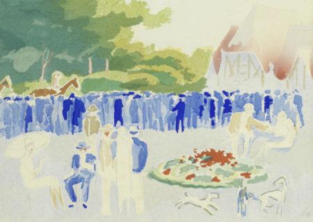 Kees van Dongen-After Kees Van Dongen - Le Grand Prix de Normandie-1931