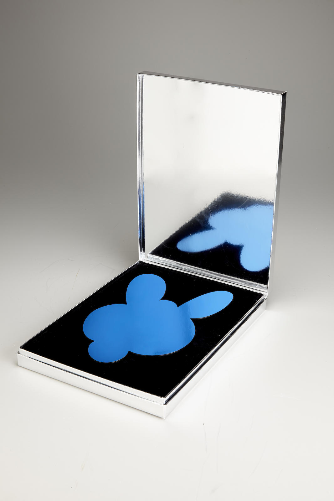 Jeff Koons-Kangaroo Mirror Box (Blue)-2003