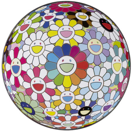 Takashi Murakami-Flowerball: Open Your Hands; Flowerball: Multicolor; Flowerball: Want to Hold You-2006