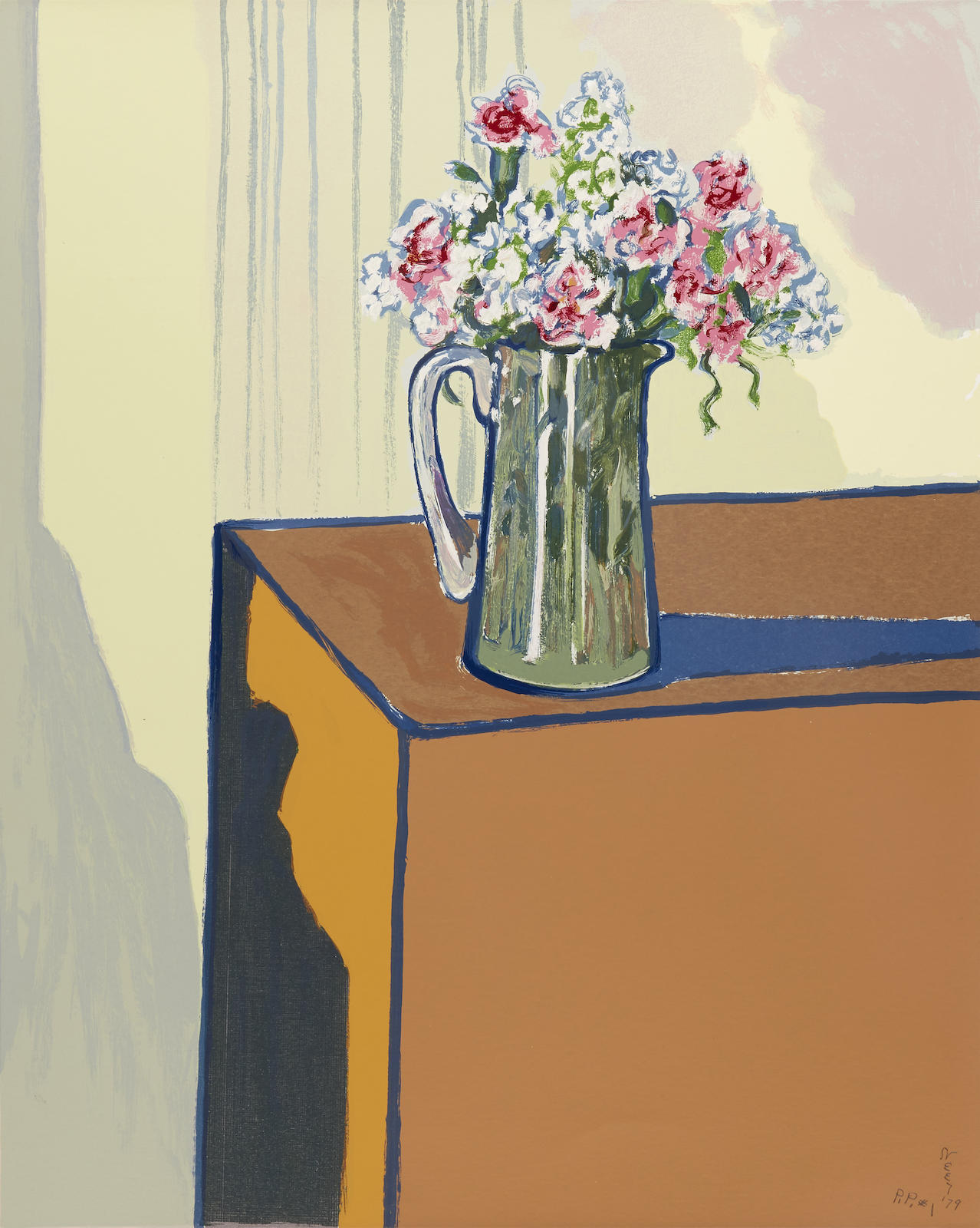 Alice Neel-Interior with Vase-1979