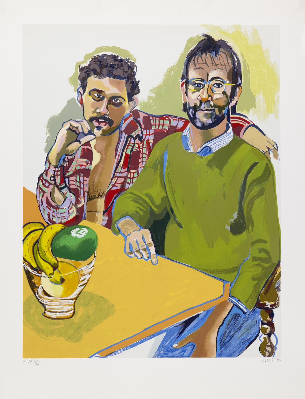 Alice Neel-Geoffrey & Brian-1980