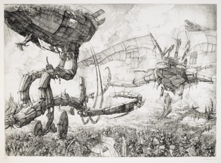 Erik Desmazieres-La Grande Bataille (FF. 33)-1978