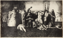 George Bellows-Village Massacre, from War series (M. 54)-1918