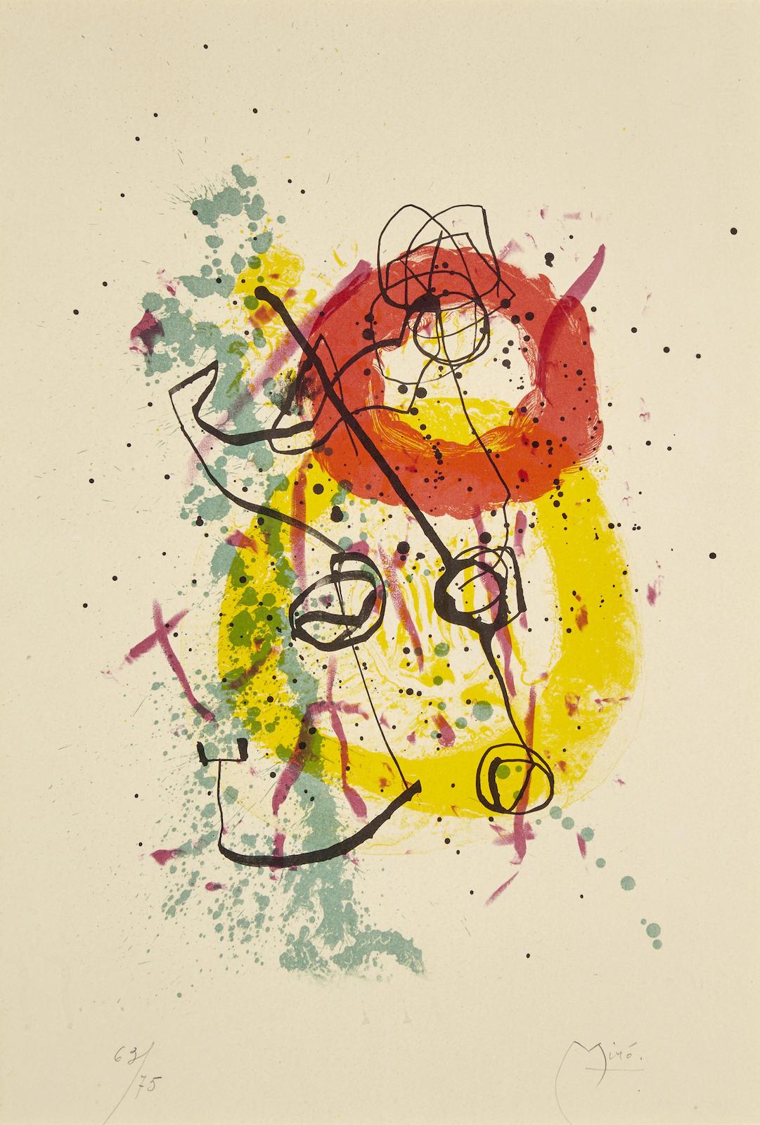 Joan Miro-XXe Siecle, No. 16 (M. 274)-1961